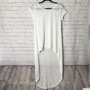 ♣️ NY&Co High Low Tunic Top Size Small
